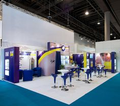 Flexible Exhibition stand design for HK Wentworth at Paperworld 2015 by Quadrant2Design