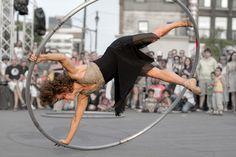 Angelica sur la roue Cyr - Angelica on the Cyr wheel by Indydan, via Flickr