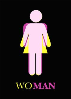 Mind Blowing Resources: 20 Mind Blowing Posters Against Gender Inequality Gender Issues, Gender Roles, Galerie D'art Photo, Wc Symbol, Gender Equality Poster, Web Design, Graphic Design, Art Expo, Art Furniture