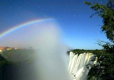 Moonlight rainbow.