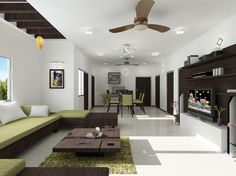 Spacious dining hall at Carnation Residency. Real Estate Development, Carnations, Home Projects, Modern Architecture, Floor Plans, Lounge, Flooring, Living Room, Dining
