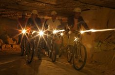 Caves Biking. Maastricht; The Netherlands  levensgenieters.nl