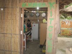 our Khmer kitchen,Khmer and western food's available,thanks