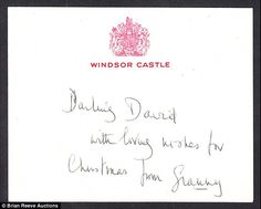 The  cards addressed to David are thought to refer to Viscount Linley, Princess Margaret's son