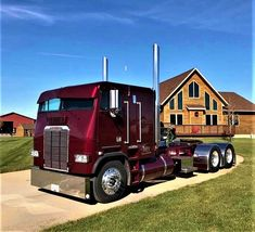 Millions of Semi Trucks Semi Trucks, Big Rig Trucks, Cool Trucks, Pickup Trucks, Truck Drivers, Detroit Diesel, Custom Big Rigs, Custom Trucks, Diesel Trucks