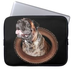 "Customize Your Own Laptop Case Laptop Computer Sleeves with Bullmastiff Stuff.  Dog Laptop Cases will definitely get noticed.  Gorgeous Gentle Giant Max.  Pet Lovers Gifts for People.  ALL Pet Lovers Gifts for People CLICK HERE: http://www.zazzle.com/littlelindapinda/gifts?cg=196190382639559148&rf=238147997806552929*/  Type in YOUR TEXT into TEXT BOX(ES) beneath ""Personalize it"" section.   ALL of Little Linda Pinda Designs CLICK HERE: http://www.Zazzle.com/LittleLindaPinda*/"