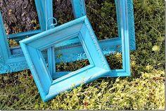 Rust-Oleum-spray-paint-frame-project use 100 grit sandpaper