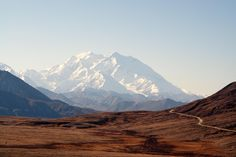 Denali - This is how the mountain looked in late August when we were there - 7 years ago already.