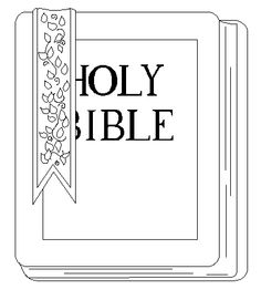 holy bible color page - Books Bible Coloring Pages