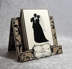 Marry Me by stampinandstuff - Cards and Paper Crafts at Splitcoaststampers (center step car)
