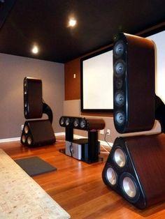 High End Audio Equipment For Sale Desktop Speakers, Diy Speakers, Audiophile Speakers, Hifi Audio, Audio System, Speaker System, Sound Room, Speaker Box Design, Av Receiver