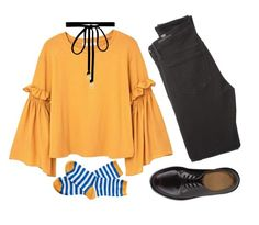 """""""Little summer"""" by lerazhihareva on Polyvore featuring мода, MANGO, Citizens of Humanity, Dr. Martens, Barbour и Joomi Lim"""