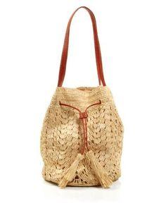 mar Y sol Shoulder Bag - Sanibel Crocheted Drawstring | Bloomingdale's