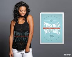 You can meet the prayers of mothers in Uganda... literally. Each purchase helps fund emergency brain surgeries for their precious babies. Help HERE ► http://www.sevenly.org/?cid=PINTERESTdale