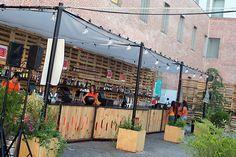 The Urban Beach Cinema en Centro Cultural Conde Duque julio 2015