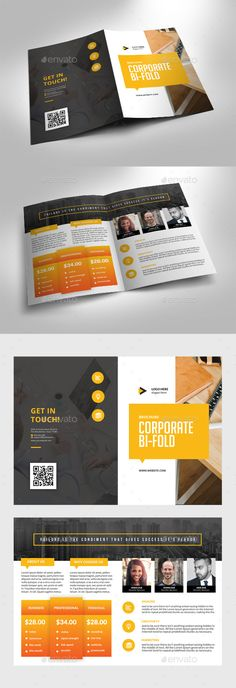 Bifold Corporate Price Brochure