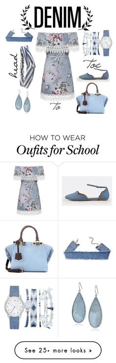 """Untitled #35"" by sgailey on Polyvore featuring WearAll, Aéropostale, A.X.N.Y., Kenneth Cole and Fendi"