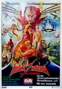 Flash Gordon Film Stills, Official Movie Posters, Pictures, Wallpapers, Behind the scenes & Classic Movie Posters, Movie Poster Art, Classic Films, Classic Tv, Foreign Movies, Sci Fi Movies, Good Movies, Iconic Movies, Flash Gordon