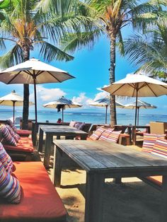 Love this view from table where I had lunch in Sindhu Beach, Sanur, Bali, Indonesia. This place called BeachCafe.