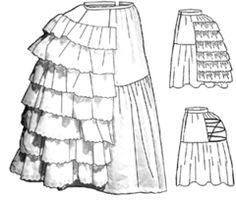 Petticoat and Bustle