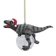 Blitzer the T-Rex Holiday Ornament (Set of 3)