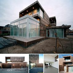 This house is trash! created by 2012 Architecten it's made almost entirely of recicled materials