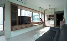 324 Gallery Micro Apartment Refurbished by Sim-Plex Design ...