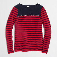 <ul><li>Viscose/nylon/merino wool.</li><li>Hits at hip.</li><li>Long sleeves.</li><li>Machine wash.</li><li>Import.</li></ul>