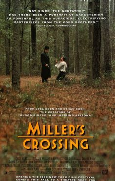 Miller's Crossing (1990) Original One-Sheet Movie Poster