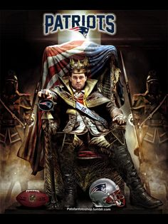 Tom Brady, the king of quarterbacks.