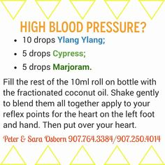Treat high blood pressure with 100 pure essential oils click on the