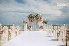 Организация трогательной церемонии с изумляющим видом. Свадьба в Крыму, релакс-центр Ирей.