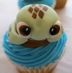 CRUSH Nemo Cupcake