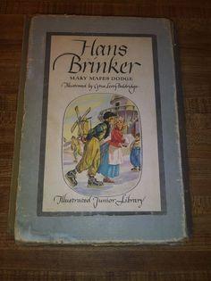 Vintage 1945 Hans Brinker/Silver Skates Mary Mapes Dodge Classic Book