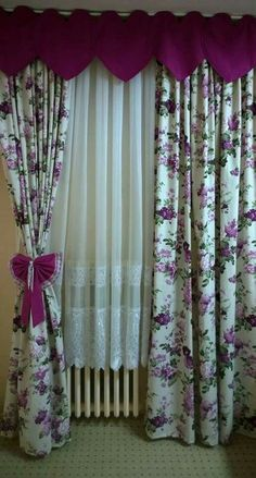 28 Curtains Decor To Update Your Home - Home Decoration - Interior Design Ideas Easy Home Decor, Home Decor Trends, Window Curtain Designs, Rideaux Design, Cute Curtains, Rustic Kitchen Design, New Interior Design, European Home Decor, Traditional Decor