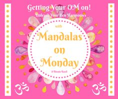Basil's Blog: Colouring with Cats #45 ~ Getting Your OM on with Mandalas on Mondays with Space Cadet Fudge