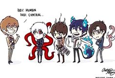 """Death Note × Tokyo Ghoul × Attack on Titan × Blue Exorcist × Parasyte : The Maxim"""