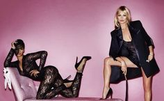 Fortitude - Rihanna - Kate Moss - V Magazine - http://www.fortitudemagazine.co.uk/fashion/fashion-catwalk/sm-star-rihanna-joins-kate-moss-for-saucy-shoot/