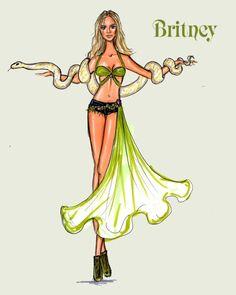 Britney Spears American Dream by Yigit Ozcakmak: Britney