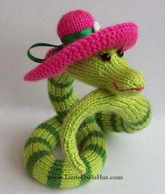 Snake Beauty Knit Pattern Zabelina