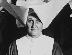Sister Chrysostum Moynahan, Chief Nurse at Base Hospital 102 (used with permission of Daughters of Charity Provincial Archives)
