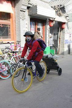China #burley #bike #travoy