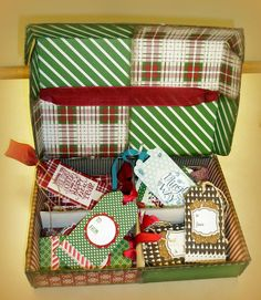Another Chance to Stamp: CREATIVE CONVENTION -- PART 1:  GIFT CARD BOX INSIDE & INSTRUCTIONS