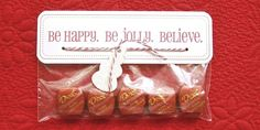 Free Printable Treat Bag Topper - for baked gifts during the holidays