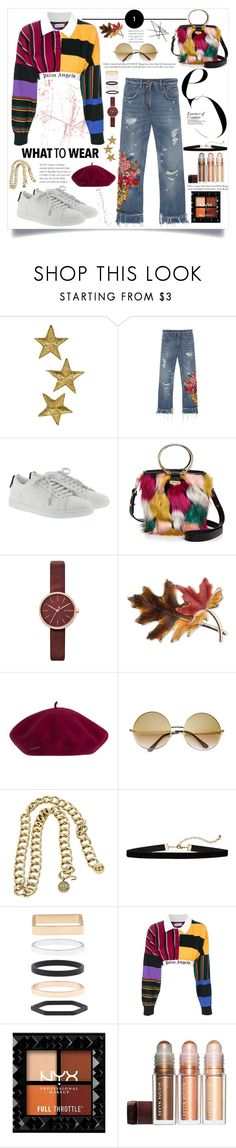 """A little too far.-A"" by amar-maya ❤ liked on Polyvore featuring Dolce&Gabbana, Yves Saint Laurent, Milly, Skagen, Anne Klein, Chanel, Accessorize, Palm Angels and amarmaya"