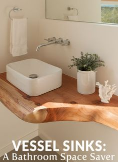 Vessel Sinks: A Bathroom Space Saver More