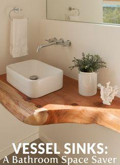 Vessel Sinks: A Bathroom Space Saver