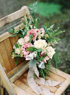 Greenhouse bridal bouquet   Noi Tran Photography