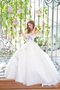 Designer wedding dresses on sale from These gowns are all ready to go & are either excess stock or have simply been tried on in store/at shows. Designer Wedding Gowns, Wedding Dresses For Sale, Designer Gowns, Polka Dot Wedding, Fantasy Wedding, One Shoulder Wedding Dress, Ball Gowns, Bride, Formal Dresses