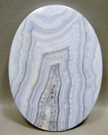 Blue Lace Agate Large Collector Cabochon #XL1